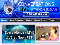 Conversations Live with Vicki St. Claire